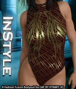 InStyle- X-Fashion Future Bodysuit for Genesis 8 Females