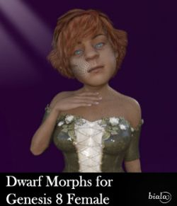Dwarf Morphs For Genesis 8 Female