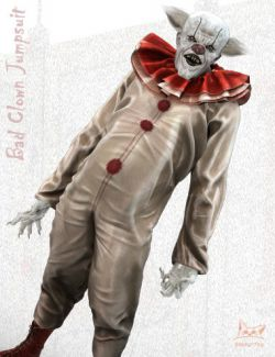 Bad Clown Jumpsuit for Genesis 8 Male(s)