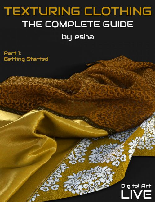 The Complete Guide to Texturing Clothing - Part 1