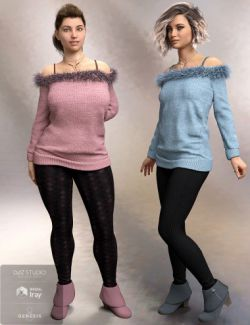 Cozy Sweater Outfit Textures
