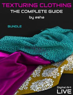 The Complete Guide to Texturing Clothing- Bundle
