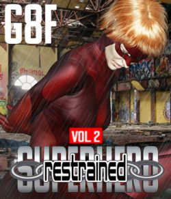 SuperHero Restrained for G8F Volume 2