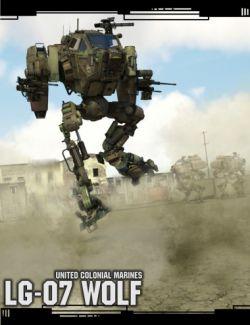 LG07 Combat Mech