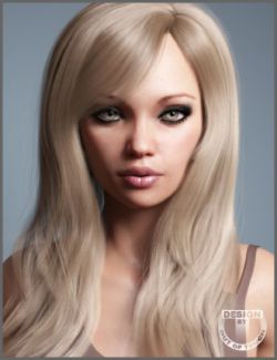Sophia Hair for Genesis 3 and 8 Female(s)