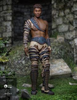 Badlands Gladiator Outfit for Genesis 8 Male(s)