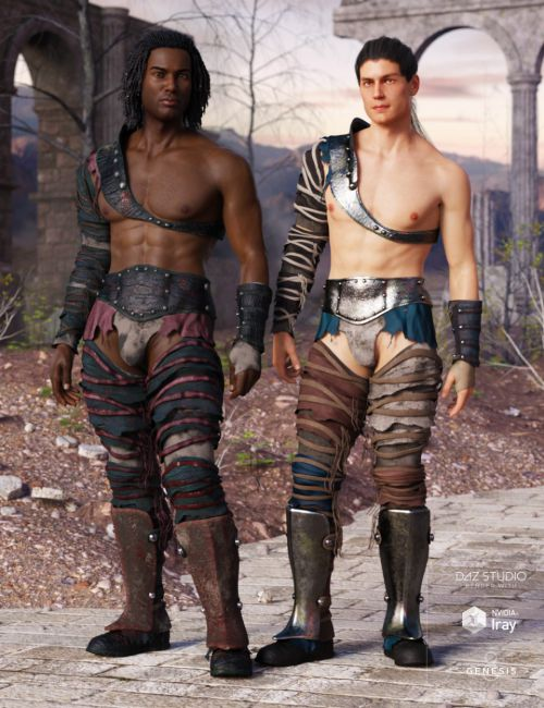 Badlands Gladiator Outfit Textures