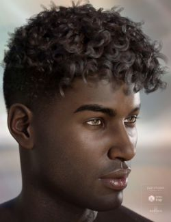 Terran Hair for Genesis 3 and 8 Male(s)