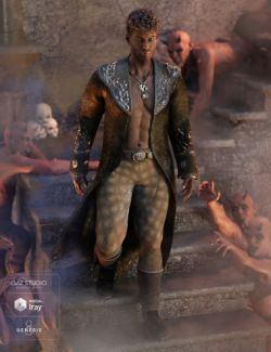 Demon Master Outfit for Genesis 8 Male(s)