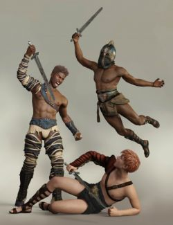 Capsces Poses and Expressions for Genesis 8 Male and Darius 8