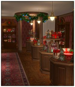Victorian Gift Shop for Poser and DS