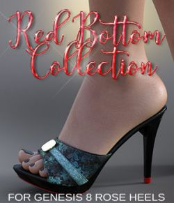 Red Carpet Collection: Rose Heels for G8F