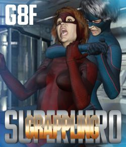SuperHero Grappling for G8F Volume 1