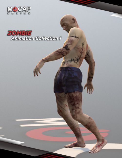 Zombie Animation Collection P1 - Michael 8