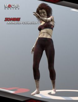 Zombie Animation Collection P1- Victoria 8
