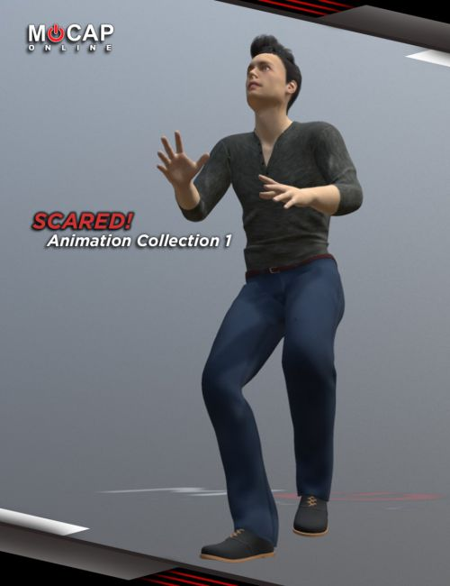 Scared! Animation Collection P1 - Michael 8