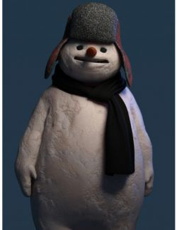 Snowman HD for Genesis 8 Male