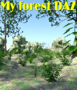 My forest DAZ