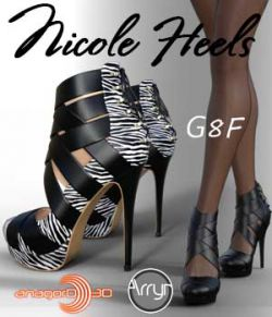 Nicole Heels and Pantyhose G8F