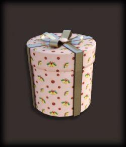 Morphing Round Gift Box