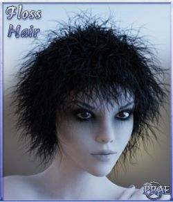 Prae-Floss Hair for G3/G8 Daz
