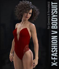 X-Fashion VBodysuit for Genesis 8 Females