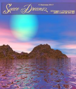 Backgrounds of Space Dreams II