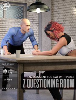 Z Questioning Room Environment with Poses for Genesis 3 & 8