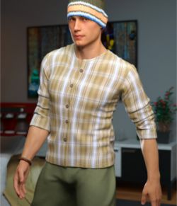 Urban Hipster Outfit for Genesis 8 Male(s)