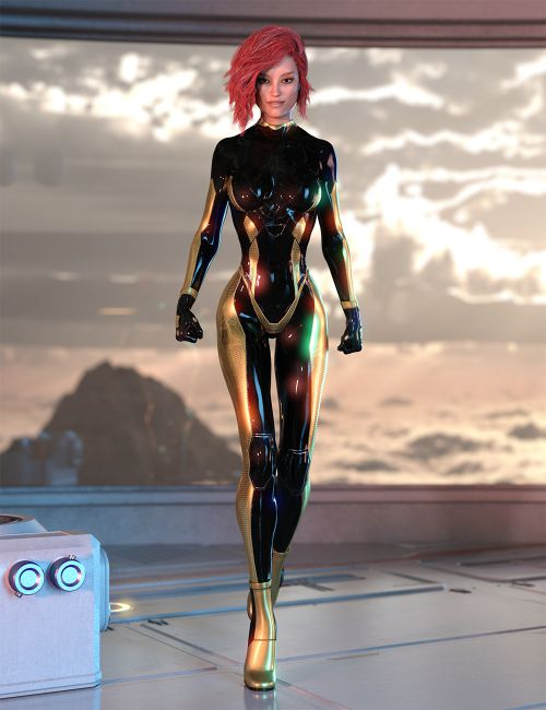 Material ADD ON for Alion Suit G8F DAZ STUDIO Iray