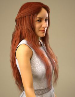 Nerea Hair for Genesis 8 Female(s)