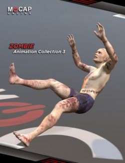 Zombie Animation Collection P3 for Michael 8