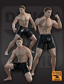DA Action Poses for Genesis 8 Male(s)
