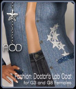 Fashion: Doctor's Lab Coat for G3 and G8 Females