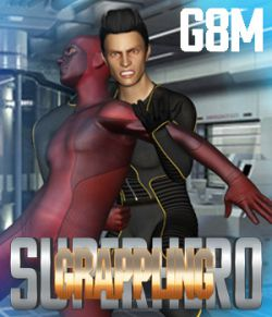 SuperHero Grappling for G8M Volume 1