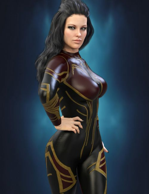 X-Fashion Sci Bodysuit for Genesis 8 Female(s)