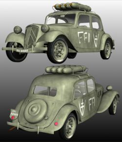 CITROEN TRACTION FFI for Poser