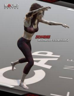 Zombie Animation Collection P2 - Victoria 8