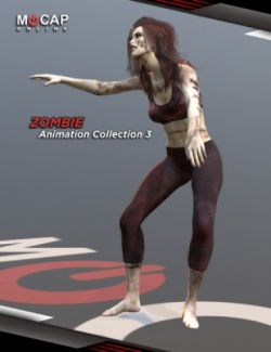 Zombie Animation Collection P3 - Victoria 8