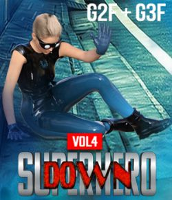 SuperHero Down for G2F and G3F Volume 4