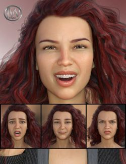 Her Emotions- Expressions for Genesis 8 Female(s) and Charlotte 8