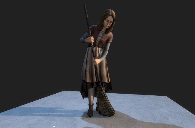 Medieval Girl - Extended License