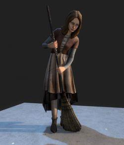 Medieval Girl- Extended License
