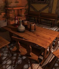 Medieval Interiors- Extended License