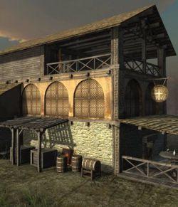 Medieval Tavern - Extended License