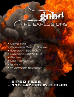 GNBD Explosion Project - 4K PSD Layers