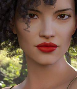 CW Samine for Genesis 8 Female