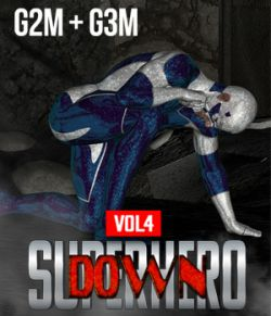 SuperHero Down for G2M and G3M Volume 4