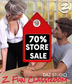 Z Fun Classroom- Daz Studio