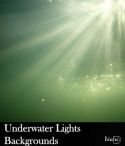 Underwater Lights Backgrounds
